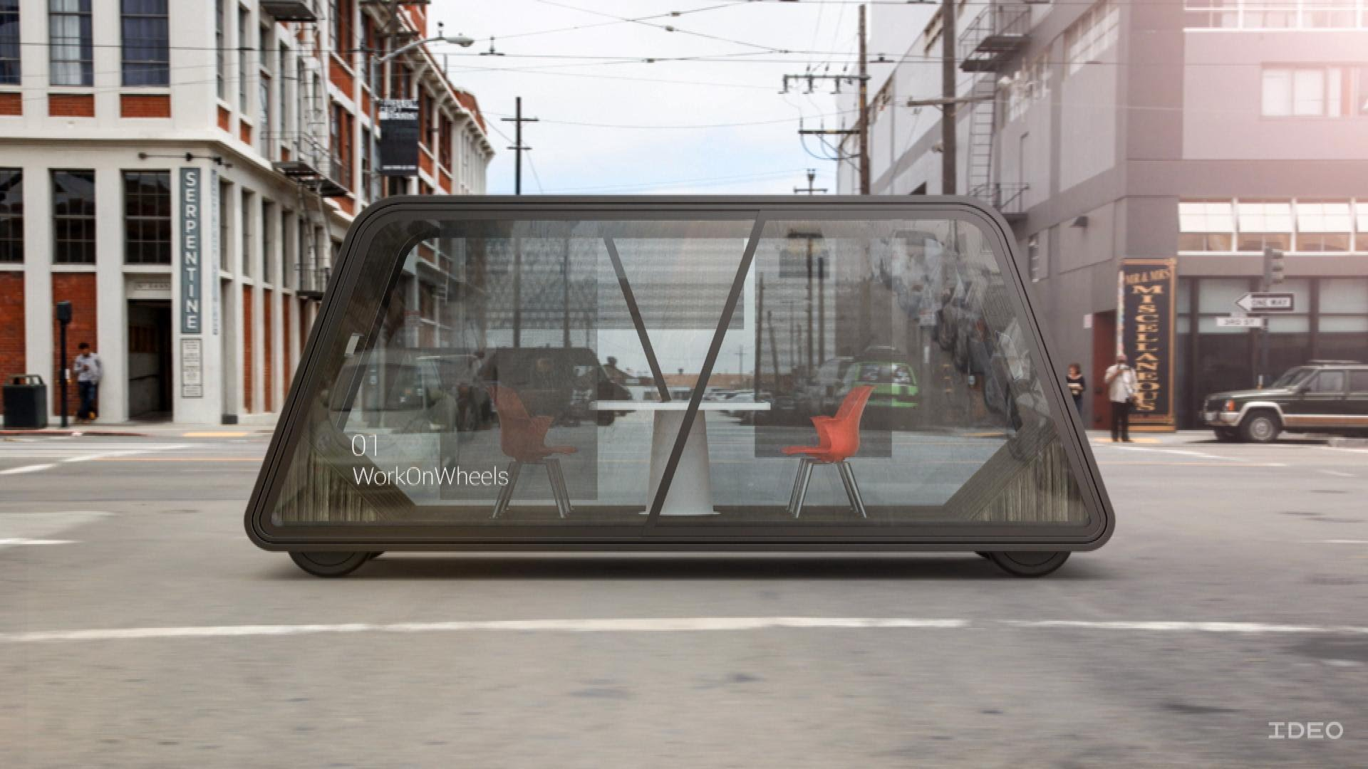 Your Future Office Space Might Be on Wheels