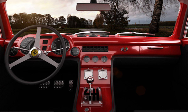 Ferrari 340 Competizione is What Happens When Classic Muscle Meets Italian Supercar