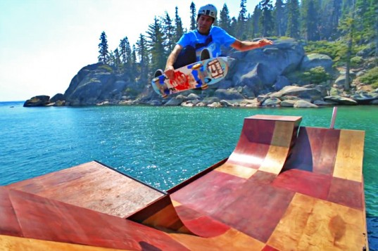 This Floating Skate Ramp Is Awesome - 2nd Look