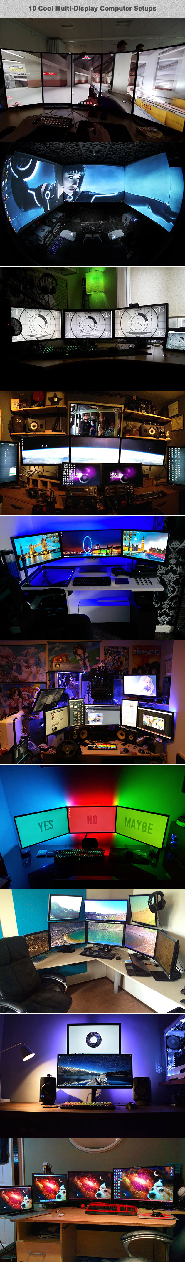 Multi-display setups