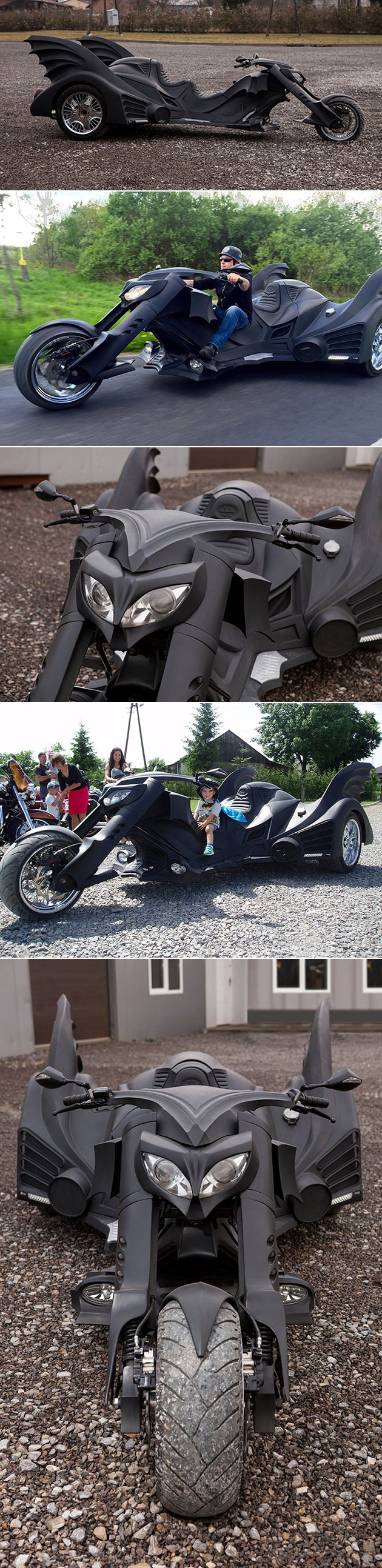 Batmobile-motorcycle