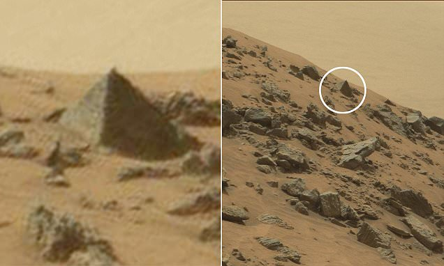 NASA's Curiosity Rover Discovers a Pyramid on Mars