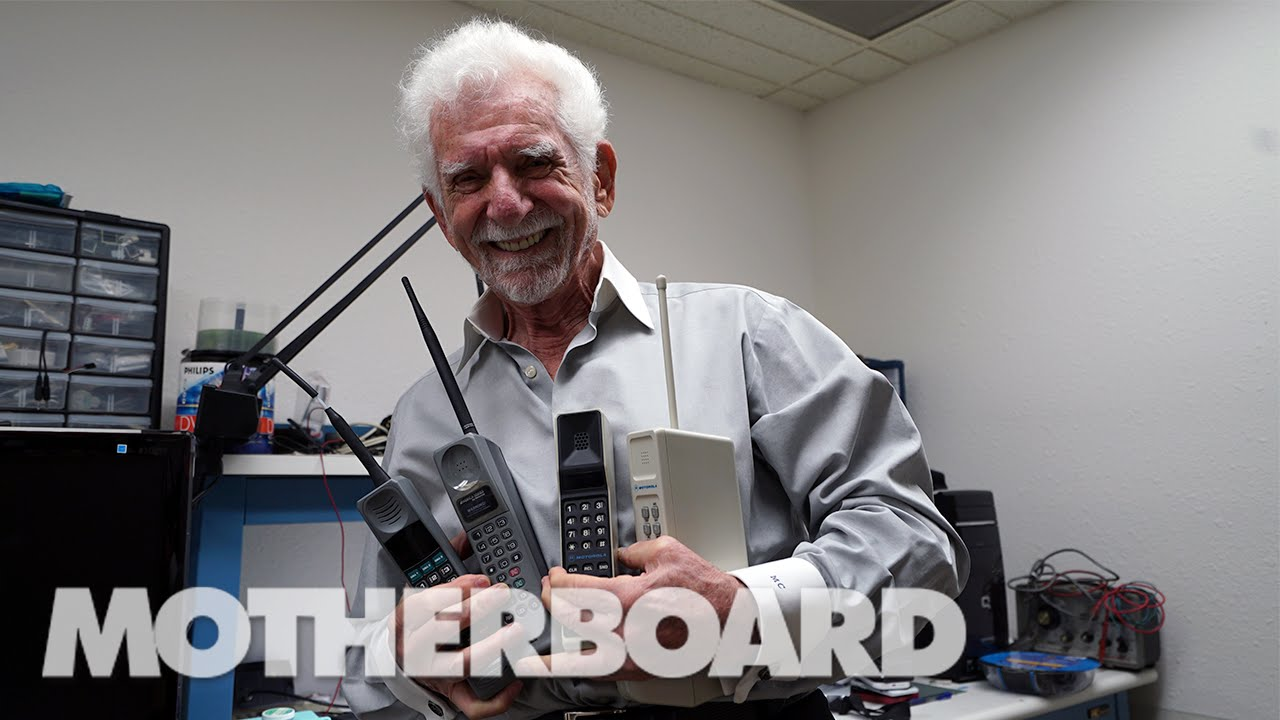 Meet The Inventor of the First Ever Cell Phone