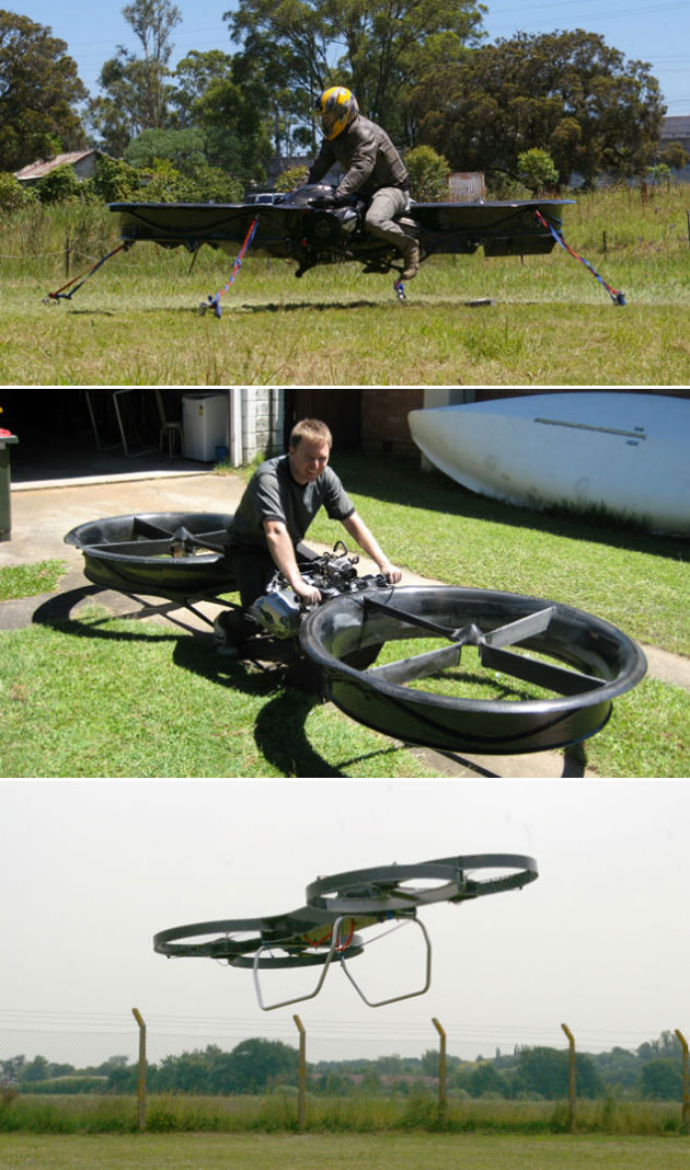 military-hoverbike