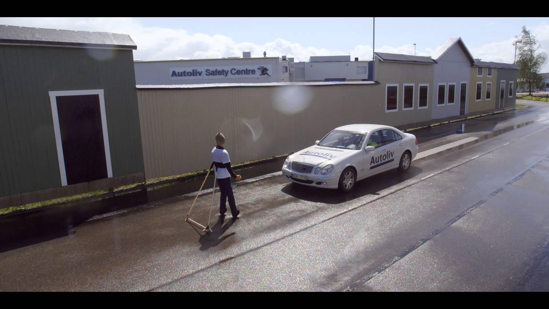 New Experimental Emergency Brake for Cars