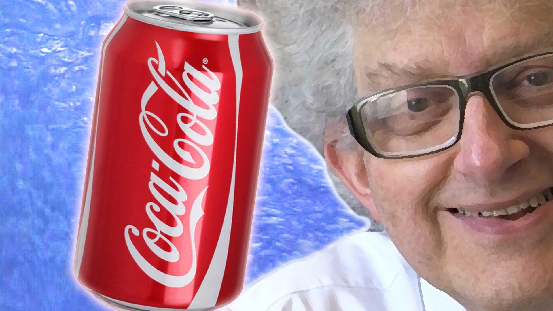 What happens when you drop a can of Coke into liquid nitrogen?