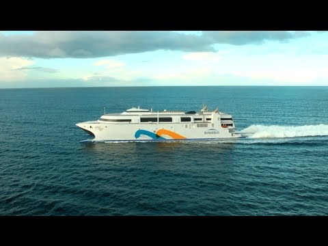 World's Fastest Ship: Incat's Wave Piercing Catamaran