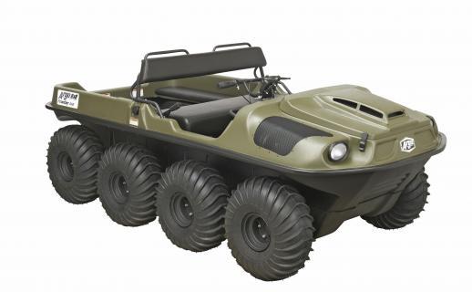 Argo's 8x8 Amphibious Utility Terrain Vehicle