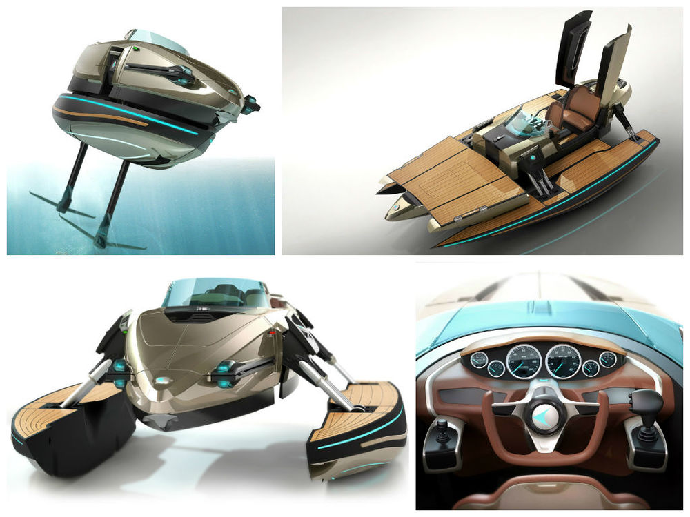 Kormaran - A Transformable Boat