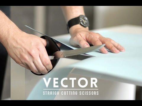 Genius Flat Edge Scissors Guarantee a Perfectly Straight Cut