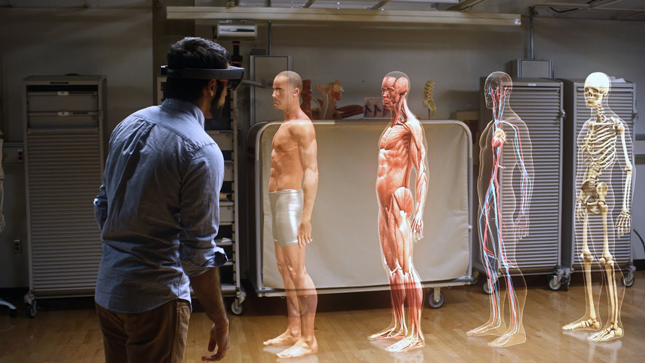 HoloLens Transforms The Way We Teach Anatomy