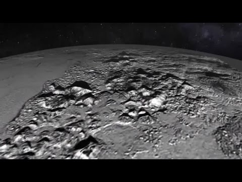 NASA releases mind-blowing flyover of Pluto