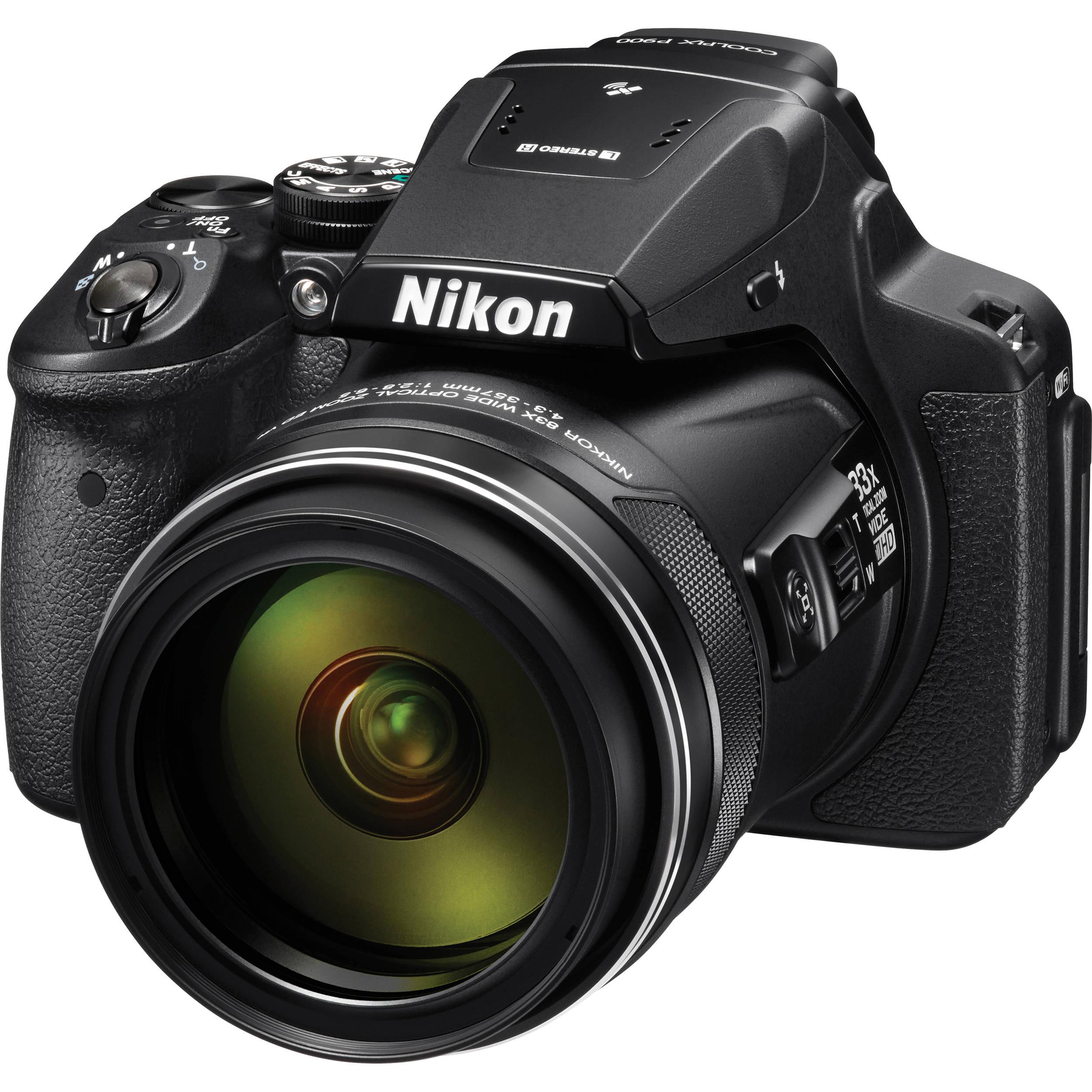 Nikon P900's 83x Optical Zoom Is Impressive