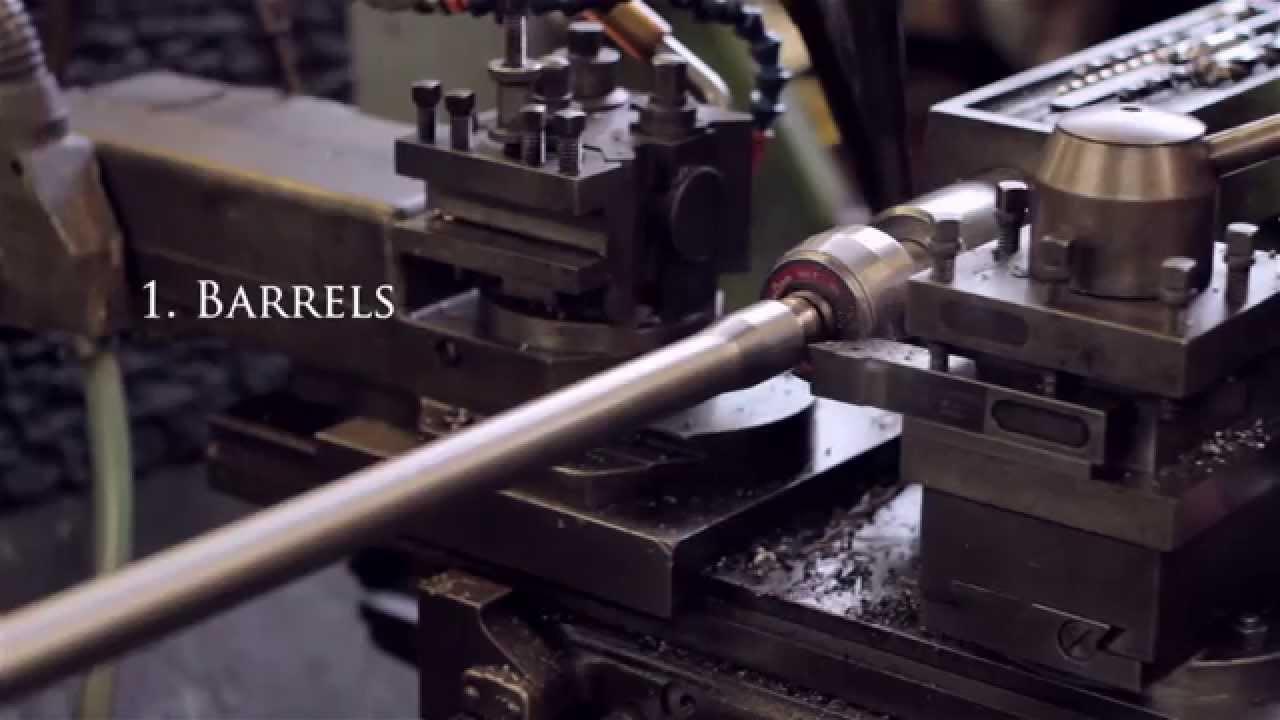 The Craftsmanship of Making a Shotgun
