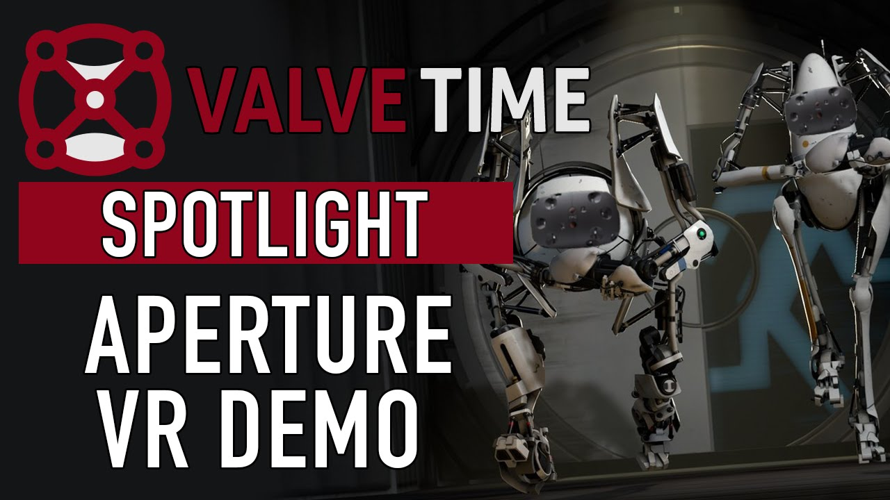 Watch All Of Valve's Portal VR Demo