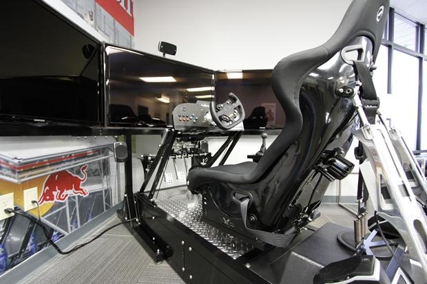 $84,000 Car Racing Rig with Real Sense by Advanced Simulators