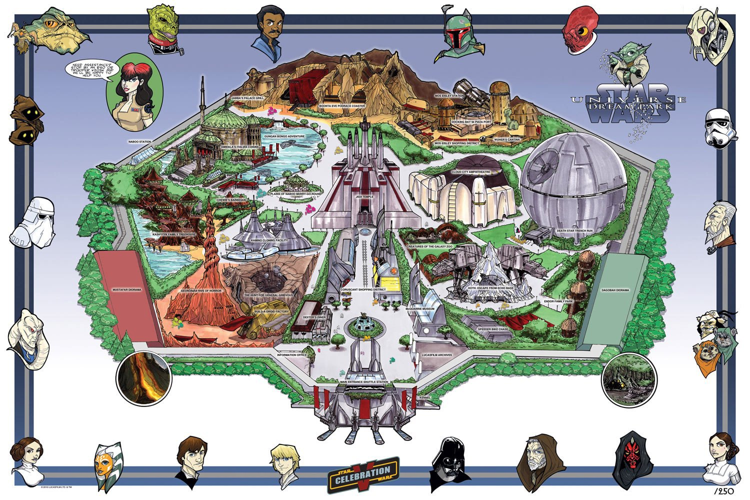 Star Wars Land to Hit Disney Parks - a Whole New Planet in the Star Wars Universe