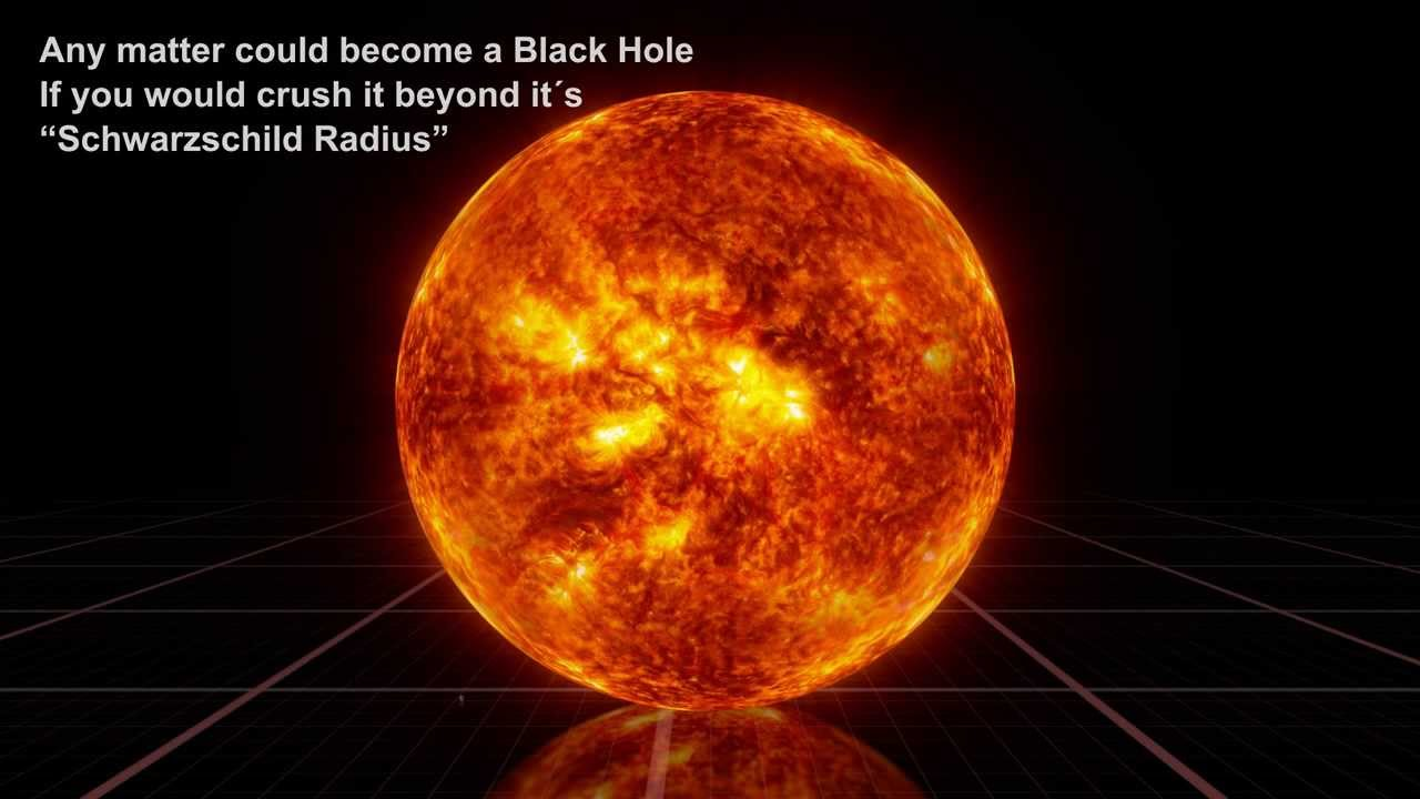 Black Hole Comparison Is Jaw-dropping