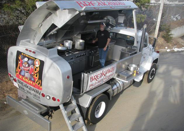 This Truck is one big BBQ on Wheels