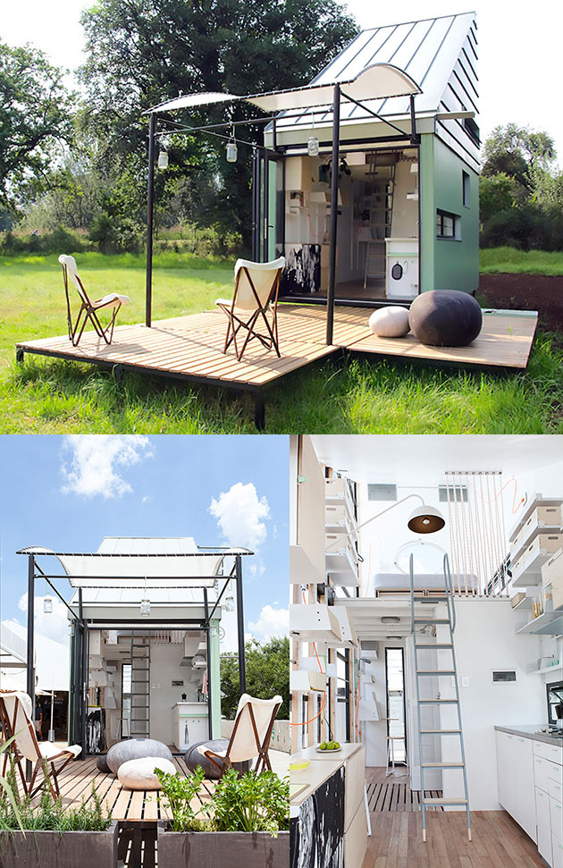 186 Square Foot Solar Home That Can Be Folded Flat And Transported Anywhere