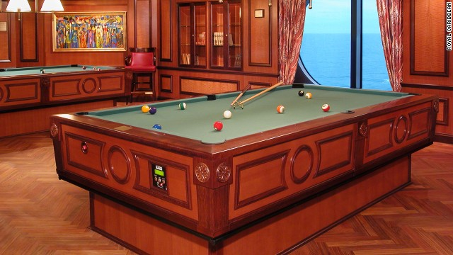 No Matter How Rough the Seas, This Self-Leveling Pool Table Remains Balanced