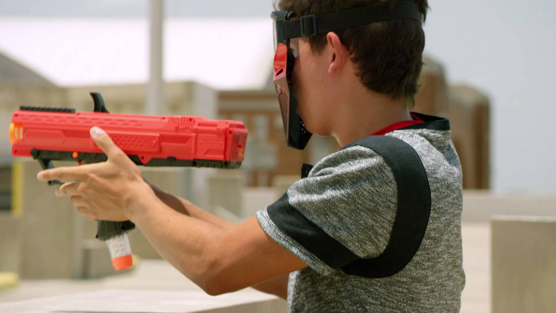 Nerf's new Rival line shoots balls at 70 MPH