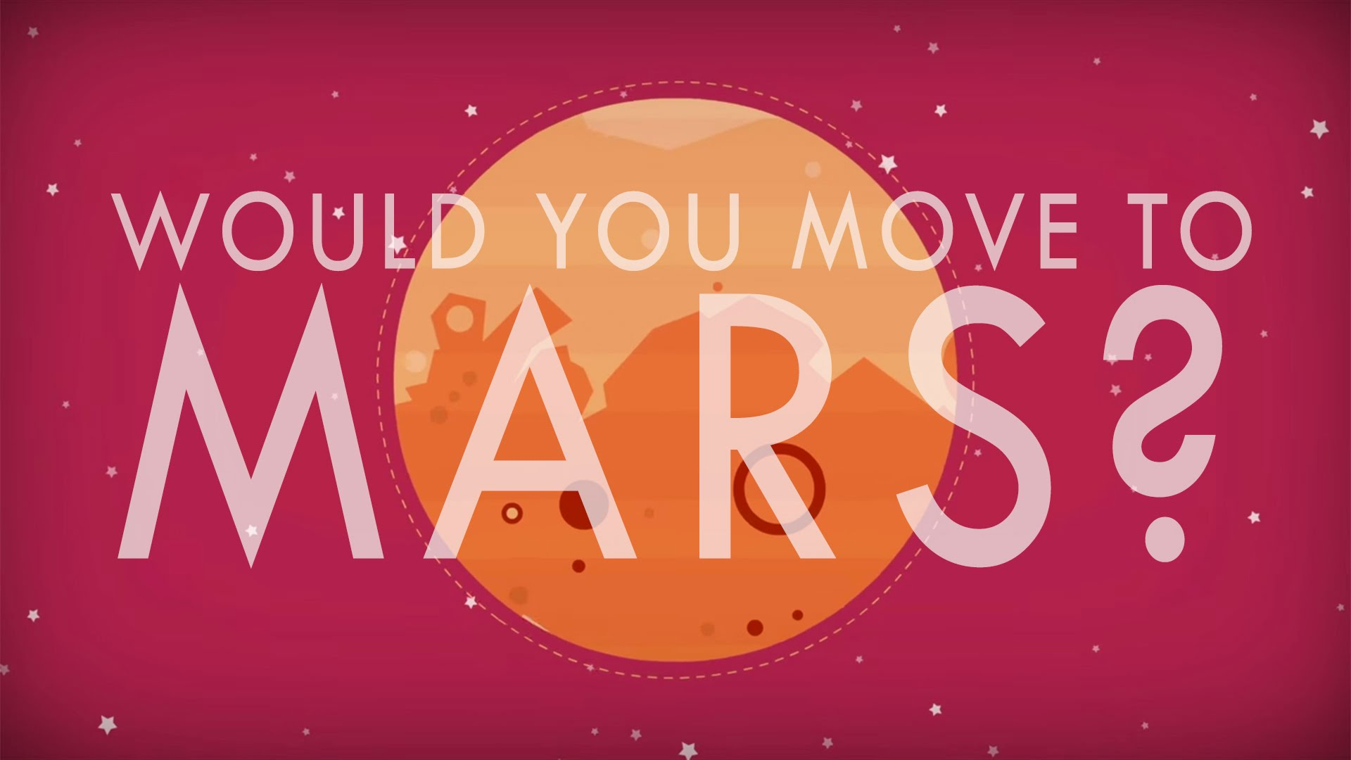 TED - Could we actually live on Mars? -