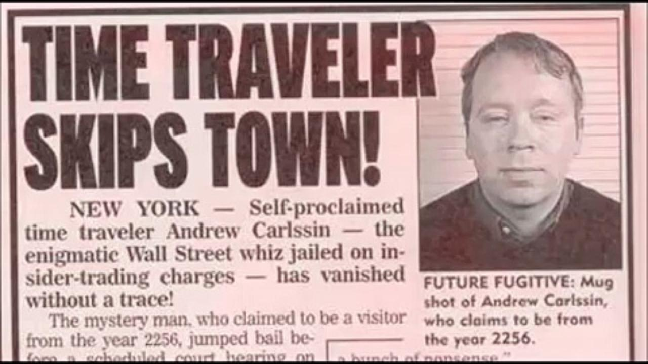Fascinating Tale of Andrew Carlssin, an Alleged Time Traveler from 2256 Who Made $350-Million on Stocks