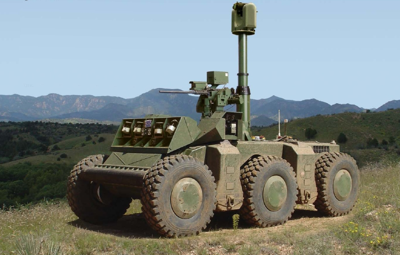 DARPA's Autonomous Crusher Tank Can Drive Itself and More