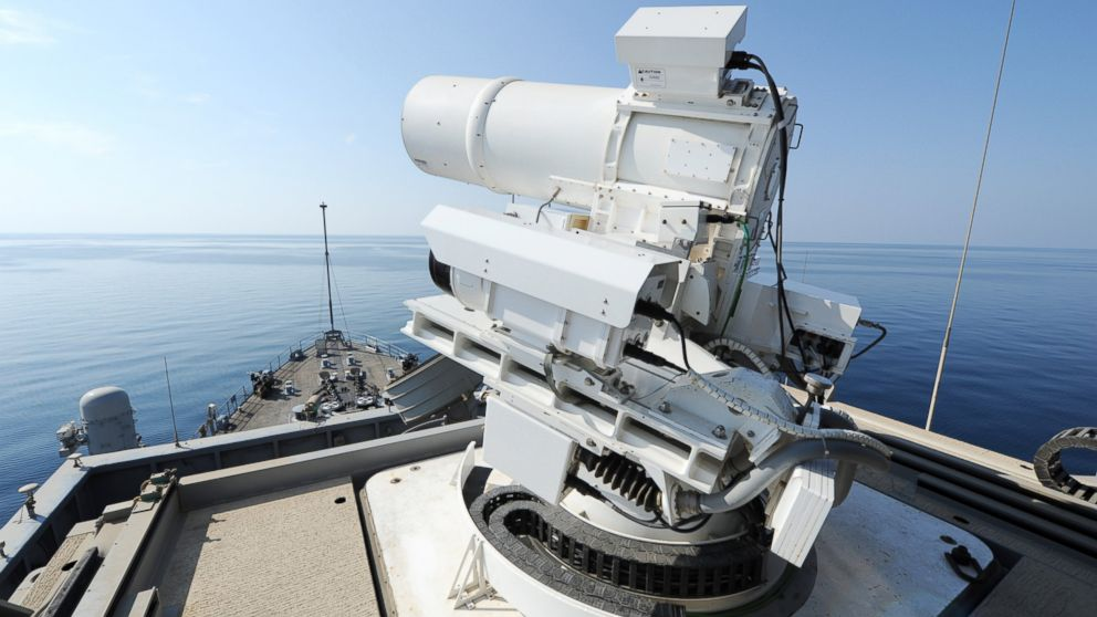 Laser Weapon System Can Shoot Down Drones in 2-Seconds