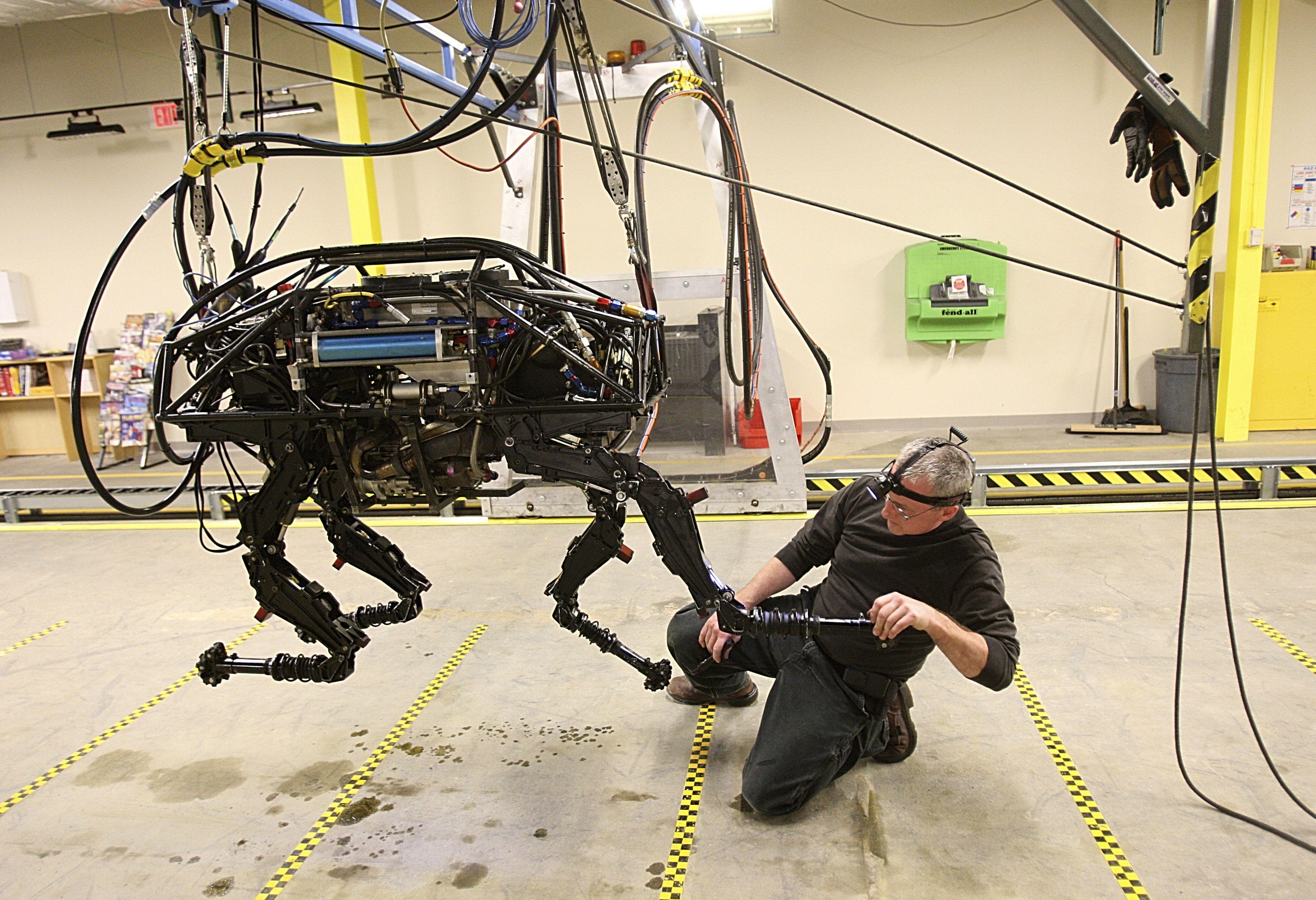 "Introducing ""Spot"" the Four Legged Robot"