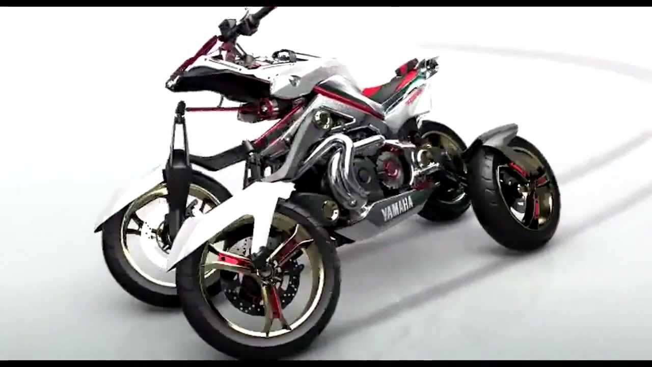 Four-Wheeled Yamaha Tesseract