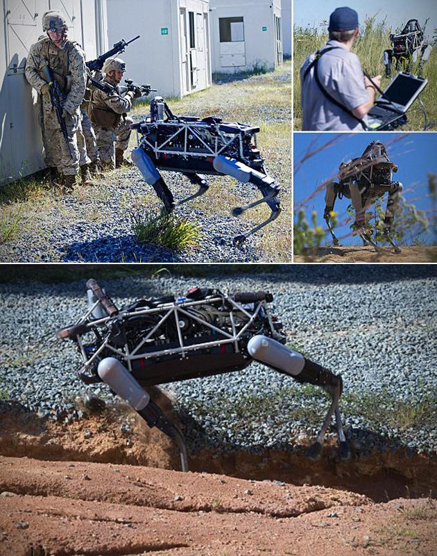 google-spot-robot