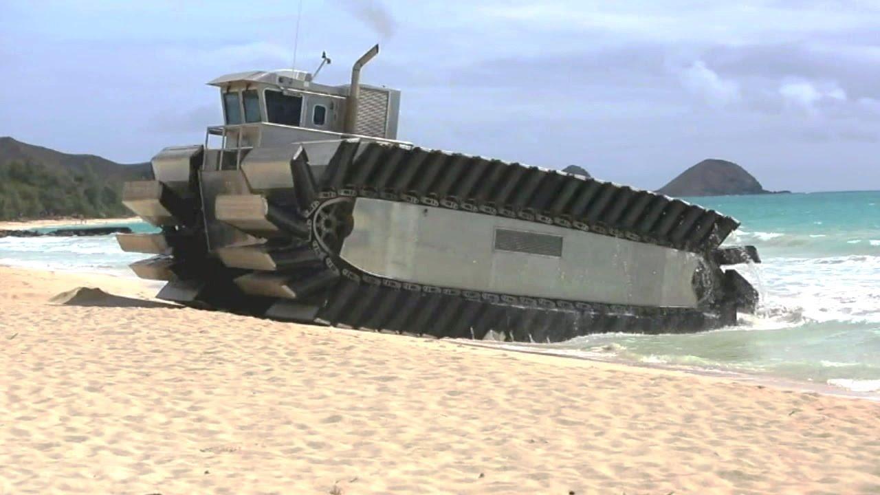 Military Tank + Boat=Heavy-Lift Amphibious Connector