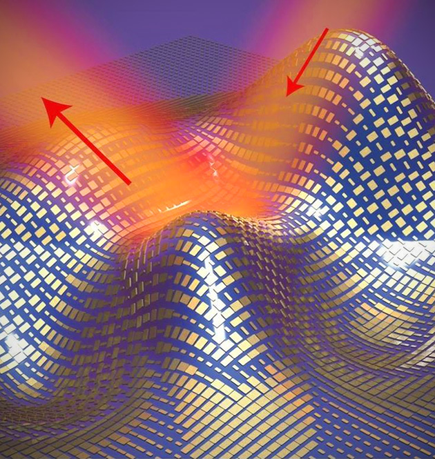Nano-Antenna Invisibility Cloak is Capable of Concealing 3D Objects Right Down to the Edges