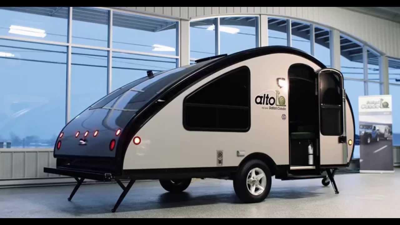 Solar-Powered Safari Condo Alto Trailer Has Elevating Roof, Kitchen, Fridge and More