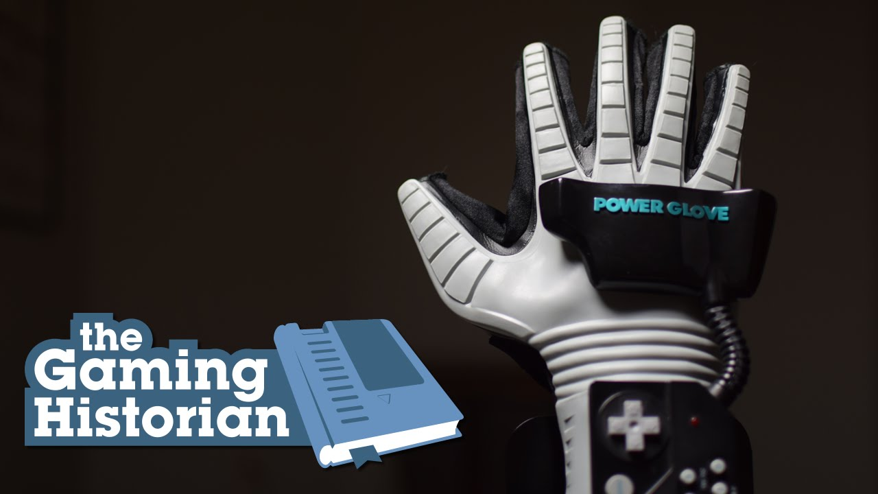 The Power Glove (2015) - Gaming historian covers the Nintendo Power Glove