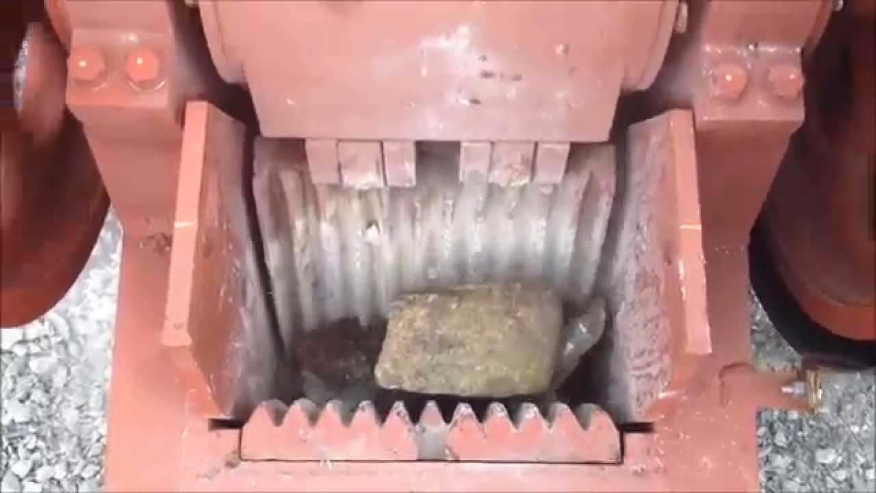 Watch this machine chew through granite slabs