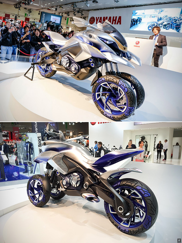 Three-Wheeled Yamaha 01GEN Is a Multi-Wheel Crossover