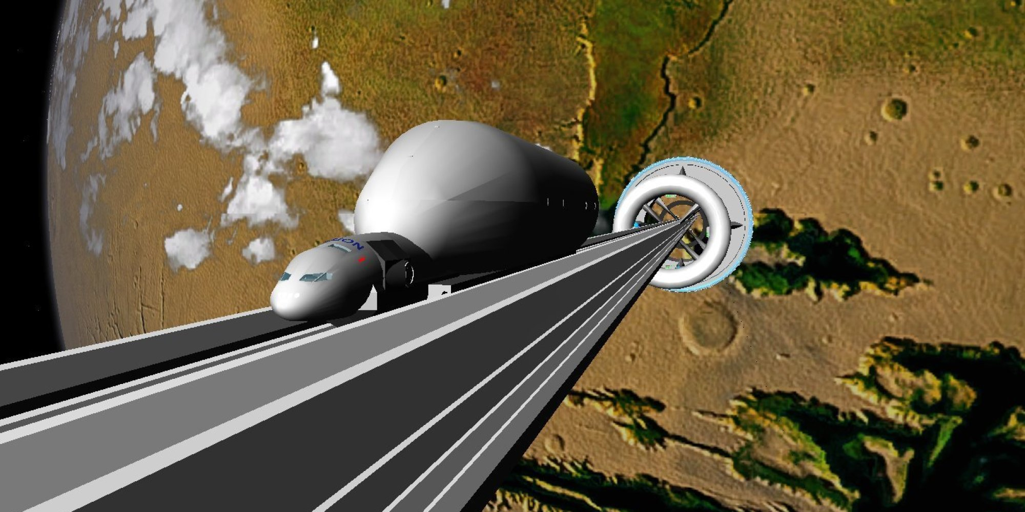 Space Elevator by Thoth Technology is Currently in the Works