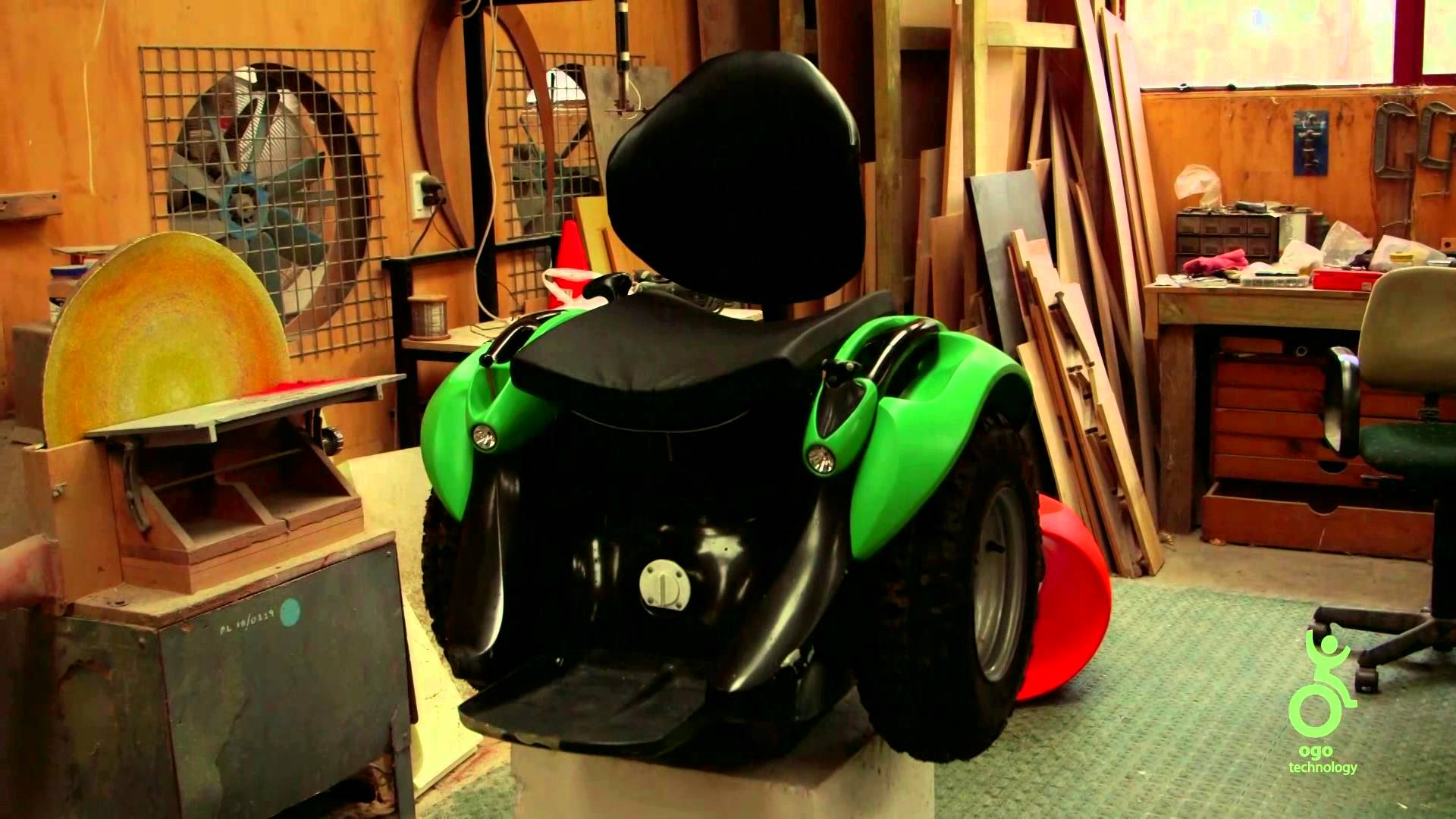 A segway type wheelchair which is hands-free