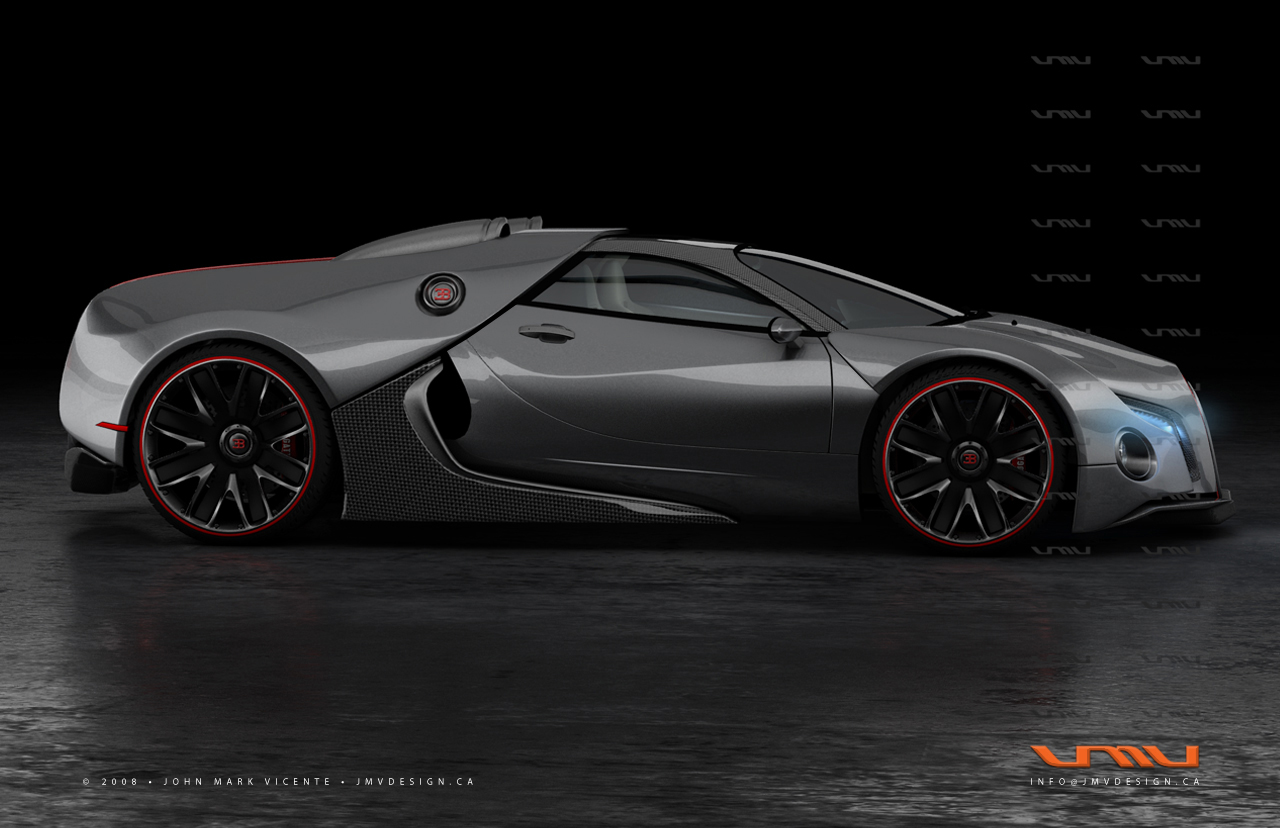 Bugatti Renaissance GT-6 Gives us a Glimpse at What the Chiron Could Look Like