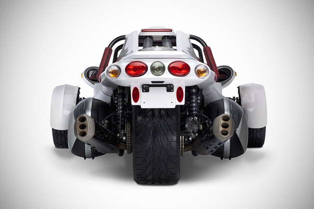 When Motorcycle Meets Trike, Campagna Motors T-REX Happens
