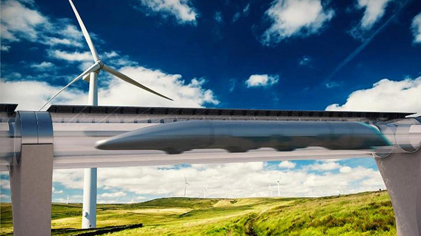 Hyperloop Construction Begins, Will Transport Passengers at Speeds Up to 760MPH Between Cities