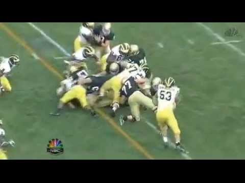 How The Yellow Football Line Is Made