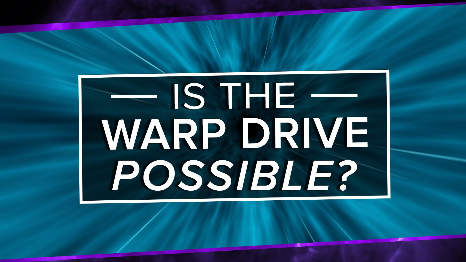 Is The Alcubierre Warp Drive Possible?