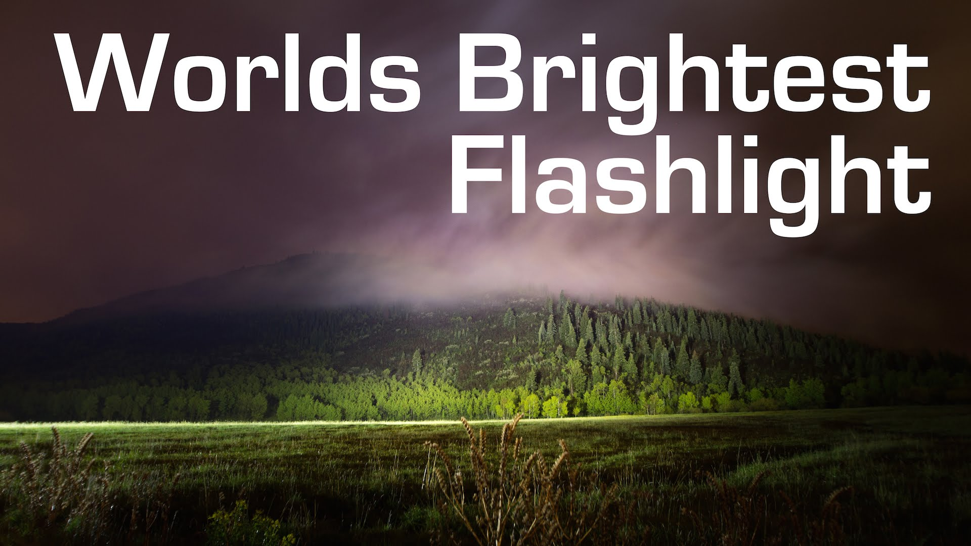 1000W LED Flashlight - Worlds Brightest (90000 Lumens)