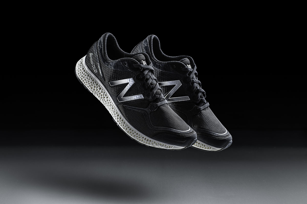 After the 3D-Printed Cars,Food and Even Houses, Finally - Running Shoes