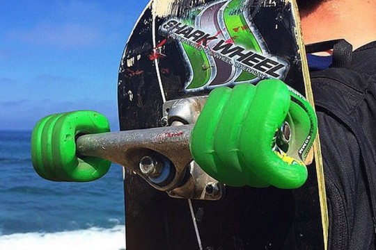 Square skateboard wheels new inventions and technologies 2015 - Invention du skateboard ...