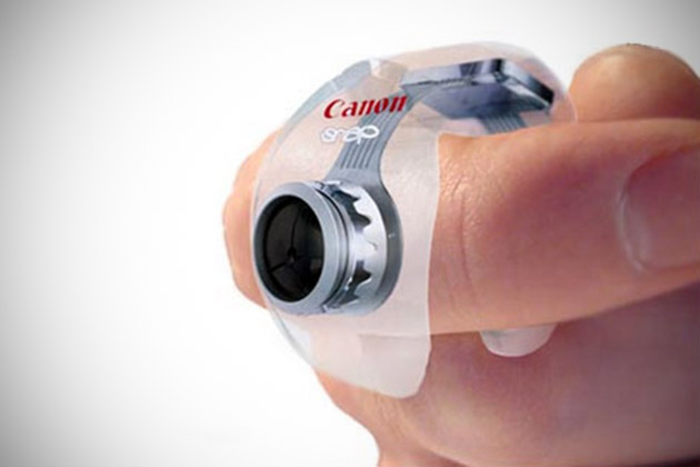 Canon Snap Puts a 12-Megapixel Camera on Your Finger